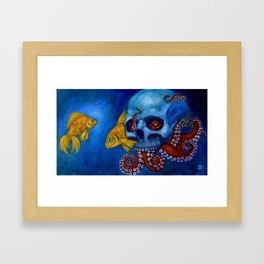 Hermit Octopus Framed Art Print