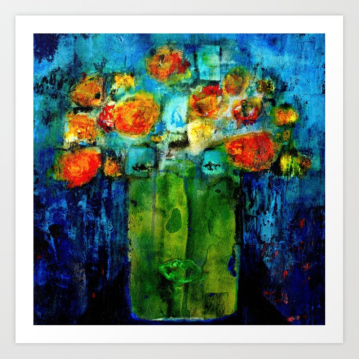 I don't want to be a flower pot! Art Print