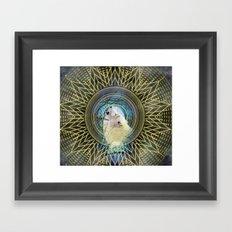 Magical Howl Framed Art Print