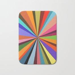 Technicolor dream 001 Bath Mat