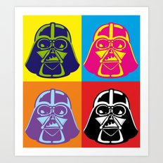 Darth Vader - Pop Art - Star Wars Art Print