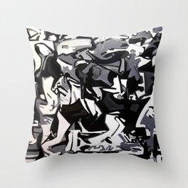 Kaosteori Throw Pillow