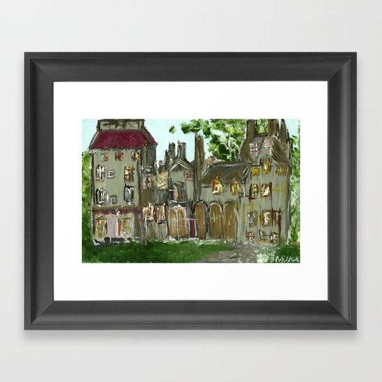 Fonthill Castle  Framed Art Print