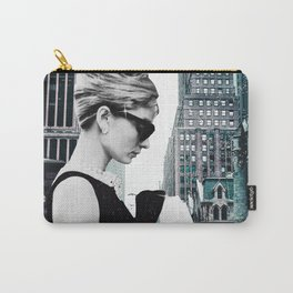 "Photo Montage ""Audrey in The City"" Carry-All Pouch"