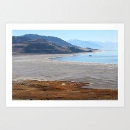Antelope Island State Park Art Print