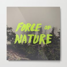 Force of Nature x Cloud Forest Metal Print