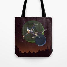 Ahsoka Attacks Tote Bag