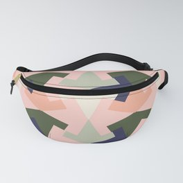 Retro pattern geometric Fanny Pack
