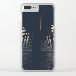 Sunset in San Clemente Clear iPhone Case
