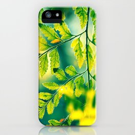Memories in the Leaves iPhone Case