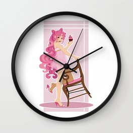 Sailor Moon Pinup - Chibiusa Cupcake Wall Clock