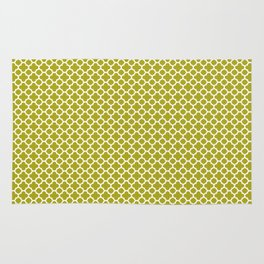 Quatrefoil Lime Rug