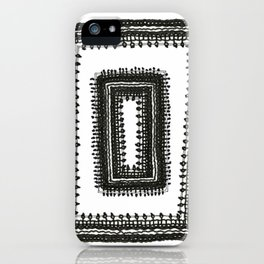 Gridwork iPhone Case