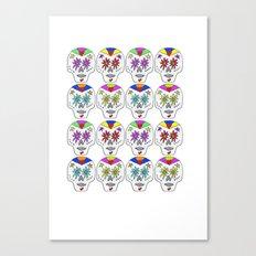 Sugar skull Canvas Print