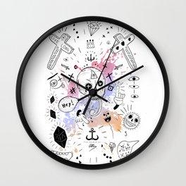 Stuff Wall Clock