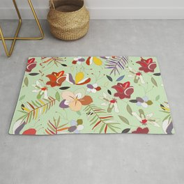 Explosion of Flowers Rug