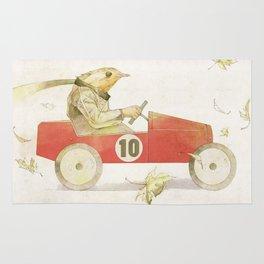 Bird runner Rug