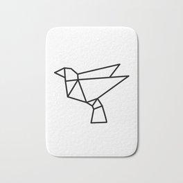 Origami Bird Bath Mat