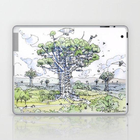 La Citta Arborea! Laptop & iPad Skin