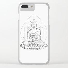 Buddha metrics Clear iPhone Case