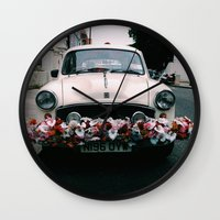 cuba Wall Clocks featuring cuba by Love Improchori