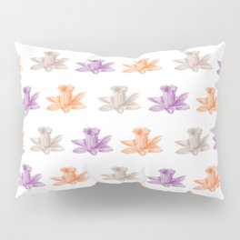 colorful flowers pattern Pillow Sham