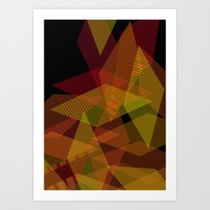 On Fire Art Print