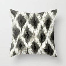 Ikat3 Throw Pillow