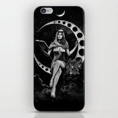 II. The High Priestess Tarot Card Illustration (Alternative Version) iPhone & iPod Skin