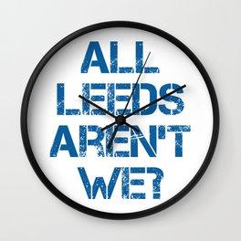 All Leeds Aren't We? Wall Clock