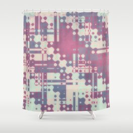 Old New Rust Shower Curtain