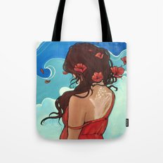 Sea Swept Tote Bag