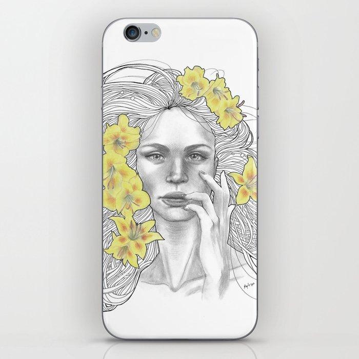 Azucena iPhone Skin