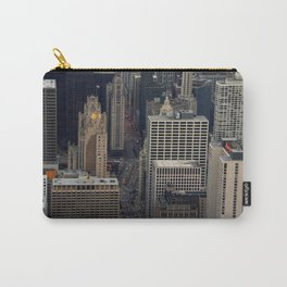 Michigan Avenue Bridge: A Bird's Eye View (Chicago Architecture Collection) Carry-All Pouch