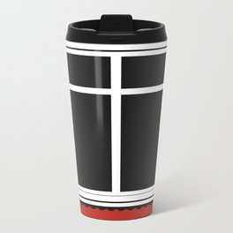 Reykjavik Window Metal Travel Mug