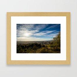 Vasta inmensidad Framed Art Print