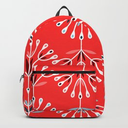 Retro Flower 6 Backpack