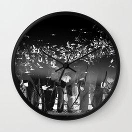 Hollywoodland 41 Wall Clock