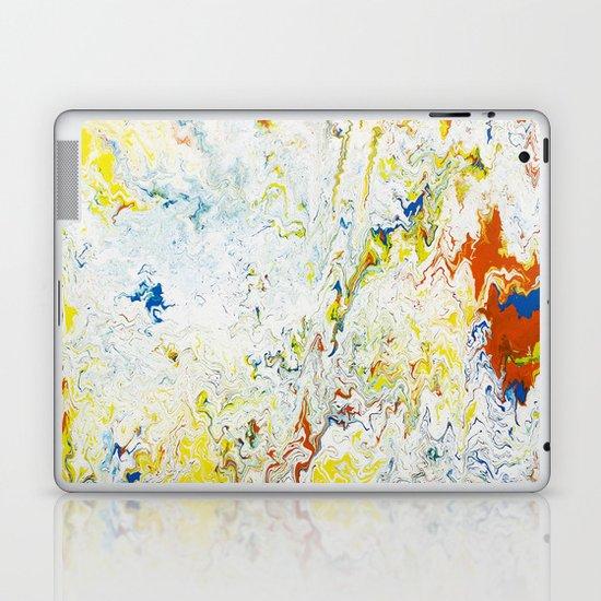 Gravity Painting 24 Laptop & iPad Skin
