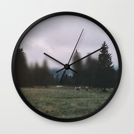 Landscape Twist Wall Clock