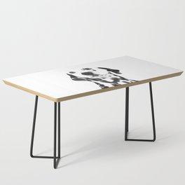 Black and White Dalmatian Coffee Table