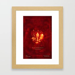 Strawberry Cough Framed Art Print