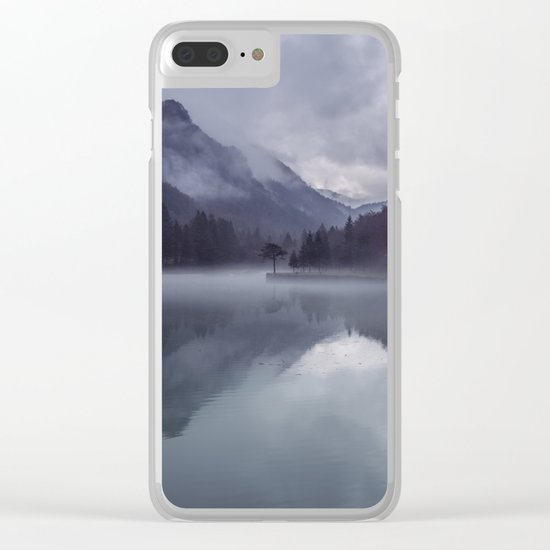 Wanderlust Forest on the Water Clear iPhone Case