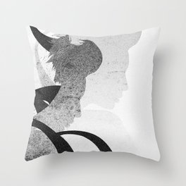 The Unconstructed Throw Pillow