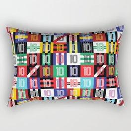 Number 10 Rectangular Pillow