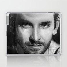 Bradley Cooper Traditional Portrait Print Laptop & iPad Skin