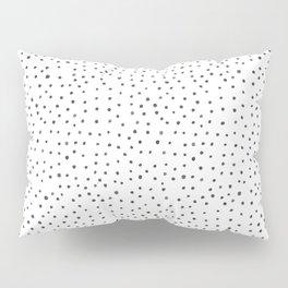 Minimalist Hand-painted Black Dots Pillow Sham