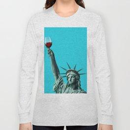 Liberty of drinking Long Sleeve T-shirt