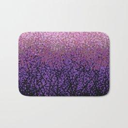 Plum Blossom Tree Grove Bath Mat