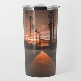 Road at Sunset Travel Mug